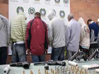 Cae red de tráfico de armas en la base militar de Tolemaida