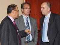 Presentan Cazucable a delegación francesa