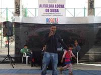 En Suba comenzó el tour del hip-hop