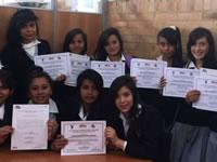 Jóvenes de Soacha se certifican en prevención