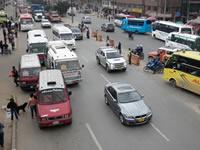 Transportadores de Soacha no pueden recoger pasajeros  en Bogotá