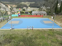 Comienza entrega de parques deportivos en Soacha