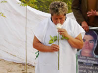 En Ocaña, madres de Soacha inauguraron el  jardín de la memoria