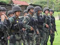 Policías Filipinos fueron entrenados en Sibaté