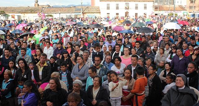 Masiva participación de soachunos en ceremonias de Semana Santa