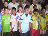Chía inaugura su torneo de pony fútbol
