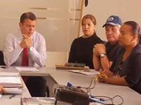 Extraña reunión  en la Secretaría de educación de Soacha