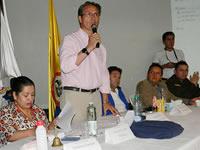 Convulsionado Cabildo abierto tuvo lugar en el  teatro Sua de Soacha