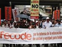 Docentes de Soacha manifiestan ser vulnerados en su derecho a la protesta
