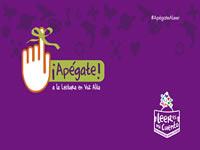 «Apégate», campaña de lectura impulsada por Mincultura