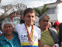 Cajiqueño, oro en campeonato nacional de pista