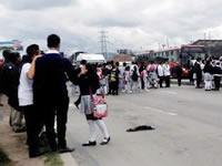 Estudiantes de León XIII protestaron por captura de profesor acusado de abuso sexual