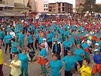 Más de 45 mil personas se reunieron en Soacha en el Día del Desafío