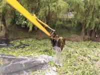En Madrid limpiaron el río Subachoque