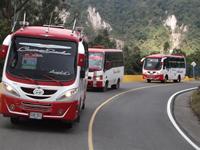 Habitantes de corregimiento dos  de Soacha estrenaron ruta de transporte