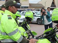 Motocicletas y patrullas para la policía en Soacha