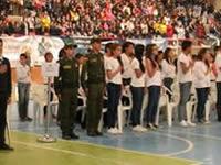 Estudiantes de Soacha se graduaron en prevención frente al consumo de drogas