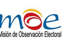 MOE entrega balance preelectoral  segunda vuelta