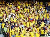Medidas de seguridad este jueves para partido de Colombia