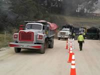 Inician operativos y censos contra volquetas que infrinjan las normas ambientales