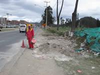 Vía Indumil se libera de escombros