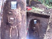 Hallazgos en el Parque Arqueológico Piedras del Tunjo
