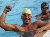 Tres deportistas de Chía en Primer Open de Natación Paralímpica Colombia 2014