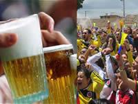 Ley seca, requisas y multas  en Soacha  durante partidos de Colombia en el mundial