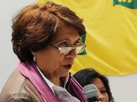 Aida Abella también cuestionó la movilidad  de  Soacha