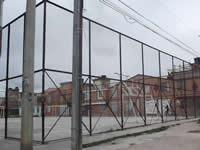 Delincuentes se apoderan de campo deportivo en Nuevo Compartir
