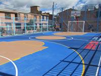 Se inició entrega de escenarios deportivos  en Soacha
