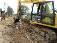 Avanzan obras viales en Cajicá