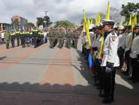 El grito de independencia se recordó en Soacha