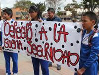 Alcaldía y Policía muy poco hacen por la seguridad de los colegios