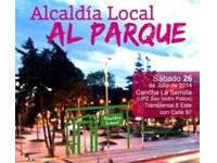 Alcaldía Local al parque en Chapinero