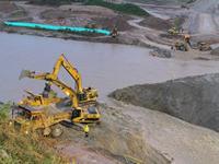 Plantón para exigir  moratoria minera