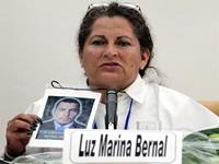 Luz Marina Bernal, desde Soacha hasta Cuba representando las víctimas