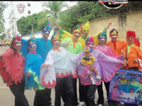 Empieza el  festival intercolegiado de danzas de Soacha