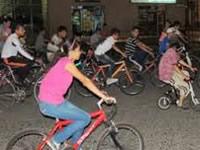 Martes de ciclovía nocturna