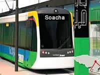 Transmilenio revive el tema del tren para Soacha