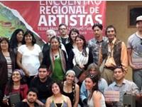 Comenzó encuentro regional de artistas