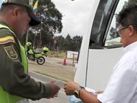 Continúan operativos de control a rutas escolares de Cundinamarca