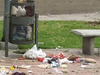 En Bogotá se crearán  multas para quien bote basura