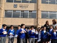 Colegios del Distrito se comprometen con la paz