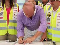 Cundinamarca firmó primer contrato de vías 'Cuarta Generación'