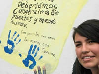 En la semana por la paz, jóvenes cundinamarqueses elaboraron murales