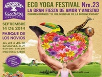 Eco Yoga Festival en Amor y Amistad