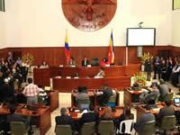 Asamblea de Cundinamarca iniciará sesiones extraordinarias