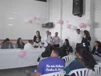 Hermana de Rosa Elvira Cely dio un mensaje de respeto hacia la mujer en Soacha