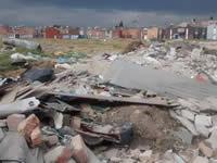 La delincuencia y los escombros se toman potrero en Santa Ana El Vivero
